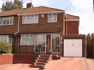 Thumbnail 4 bed semi-detached house to rent in Yewtree Road, Streetly, Sutton Coldfield