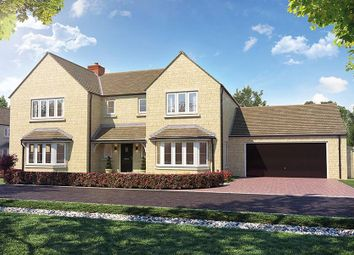 "Thumbnail 5 bed detached house for sale in ""The Tilhurst"" at Church Road, Long Hanborough, Witney"