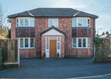 Thumbnail 4 bed detached house for sale in Wilton Drive, Hale Barns, Altrincham