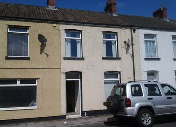 Thumbnail 3 bed terraced house for sale in Walter Street, Caerphily