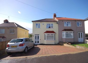Thumbnail 3 bed semi-detached house for sale in Neville Road, Kingswood, Bristol