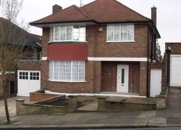 Thumbnail 4 bed detached house to rent in The Ridings, London