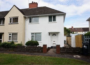Thumbnail 3 bedroom end terrace house for sale in St. Fagans Road, Fairwater
