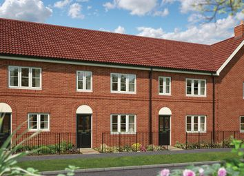 "Thumbnail 3 bedroom terraced house for sale in ""The Hazel"" at Hadham Road, Bishop's Stortford"