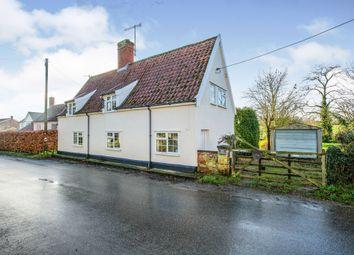 Thumbnail 3 bed detached house for sale in Sweffling, Saxmundham