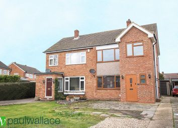 Thumbnail 3 bed semi-detached house for sale in Ashdown Crescent, Cheshunt, Waltham Cross