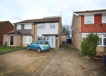 Thumbnail 4 bed semi-detached house for sale in Hithermoor Road, Stanwell Moor, Staines-Upon-Thames, Surrey