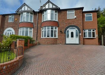 Thumbnail 4 bedroom semi-detached house for sale in Woodhill Grove, Prestwich, Manchester