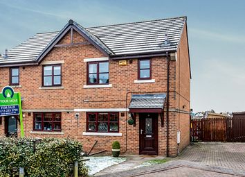 Thumbnail 2 bed semi-detached house for sale in Foxton Gardens, Morley, Leeds