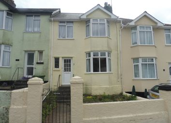 Thumbnail 3 bed terraced house for sale in Egerton Road, Torquay
