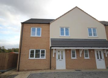 Thumbnail 2 bed semi-detached house for sale in Sutton Road, Witchford, Ely