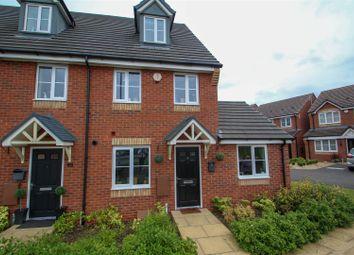 Thumbnail 3 bed semi-detached house for sale in Bullhurst Close, Talke, Stoke-On-Trent