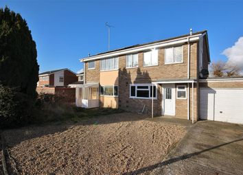 Thumbnail 3 bed semi-detached house for sale in Cherbury Green, Grove, Wantage