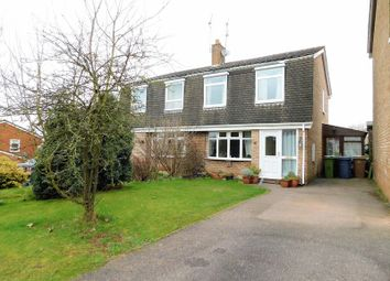 Thumbnail 3 bed semi-detached house for sale in 14 Meadow Glade, Hixon, Stafford.