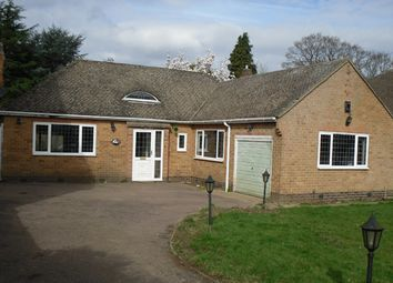 Thumbnail 2 bed bungalow to rent in The Broadway, Leicester