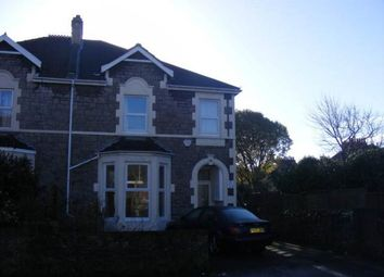 Thumbnail 2 bed flat to rent in Milton Road, Weston-Super-Mare, North Somerset