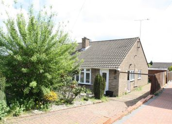 Thumbnail 2 bed semi-detached bungalow for sale in Shelley Drive, Bletchley, Milton Keynes