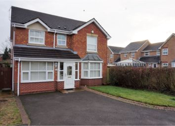 Thumbnail 4 bedroom detached house for sale in Yale Drive, Wolverhampton