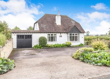 Thumbnail 4 bed bungalow for sale in Two Hedges Road, Woodmancote, Cheltenham, Gloucestershire
