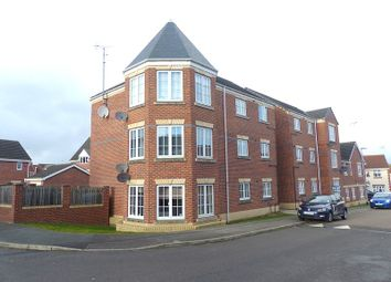 Thumbnail 3 bed flat to rent in Sapphire Street, Berry Hill, Mansfield