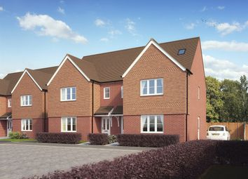 "Thumbnail 4 bed town house for sale in ""The Lumley"" at Brookers Hill, Shinfield, Reading"