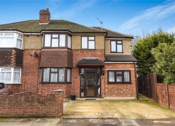 Thumbnail 4 bed semi-detached house for sale in Perry Close, Uxbridge, Middlesex