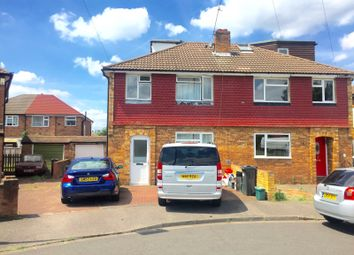 Thumbnail 4 bed semi-detached house for sale in The Gardens, Bedfont/Feltham