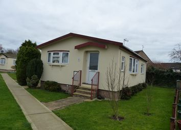 Thumbnail 2 bed mobile/park home for sale in Keys Park, Peterborough