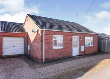 Thumbnail 2 bed detached bungalow for sale in Elm Low Road, Wisbech