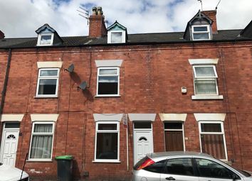 Thumbnail 3 bed terraced house to rent in Carlingford Road, Hucknall