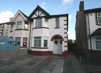 Thumbnail 4 bed semi-detached house for sale in Cleveleys Avenue, Southport