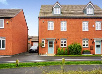 Thumbnail 4 bed semi-detached house for sale in Fellow Lands Way, Derby