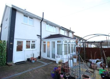 Thumbnail 3 bed semi-detached house for sale in St. Julians Court, Caerphilly