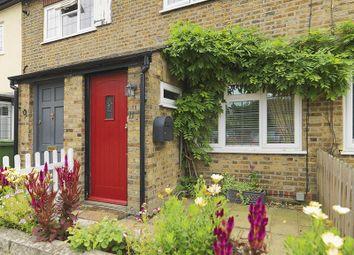 Thumbnail 2 bed terraced house for sale in Rushett Road, Thames Ditton