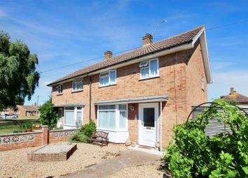 Thumbnail 3 bed semi-detached house for sale in Palmerston Avenue, Goring-By-Sea, Worthing