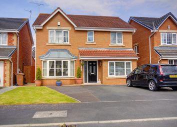 Thumbnail 4 bed detached house for sale in Cragside Gardens, Bedlington