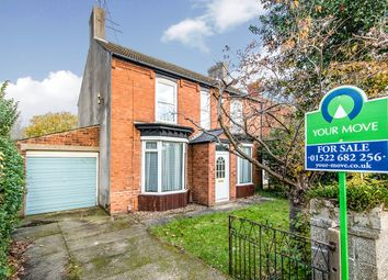 Thumbnail 4 bed detached house for sale in Newark Road, North Hykeham, Lincoln