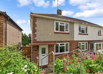 Thumbnail 2 bed semi-detached house for sale in Settington Avenue, Chatham, Kent