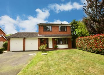 Thumbnail 4 bed detached house for sale in Finwood Close, Solihull