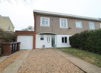 Thumbnail 3 bed end terrace house to rent in Robins Way, Hatfield
