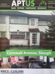 Thumbnail 2 bed flat for sale in Cornwall Avenue, Farnham Royal, Slough