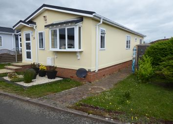 Thumbnail 2 bed mobile/park home for sale in Clifton Park, New Road, Clifton, Shefford, Bedfordshire