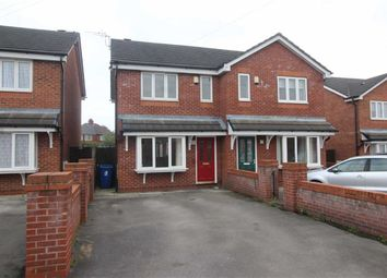 Thumbnail 2 bed semi-detached house for sale in Fell Street, Leigh, Wigan