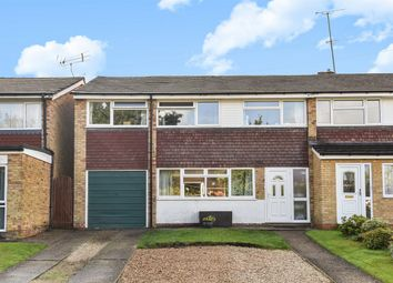 Thumbnail 4 bed semi-detached house for sale in Lyneham Road, Crowthorne, Berkshire