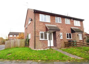 Thumbnail 1 bed town house for sale in Pennine Close, Shepshed, Leicestershire