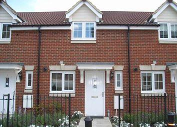 Thumbnail 2 bedroom terraced house to rent in Prentice Way, Ipswich