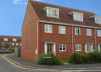 Thumbnail 3 bedroom town house for sale in Oxford Close, Longbenton, Newcastle Upon Tyne