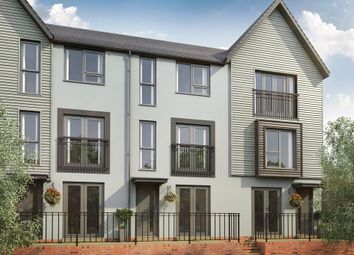 "Thumbnail 4 bed terraced house for sale in ""Haversham"" at Rhodfa Cambo, Barry"