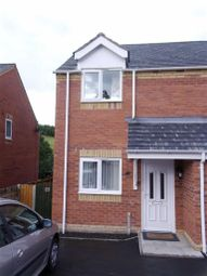 Thumbnail 2 bed semi-detached house to rent in 19, Oaklands Park, Barnfields, Newtown, Powys