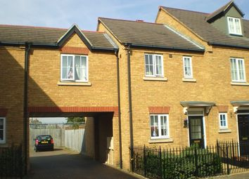 Thumbnail 2 bed terraced house to rent in Banks Drive, Sandy